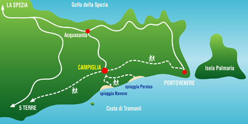 how to get by train from siena to la spezia
